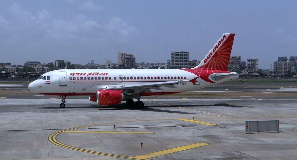 Avião comercial da companhia aérea Air India (imagem referencial)