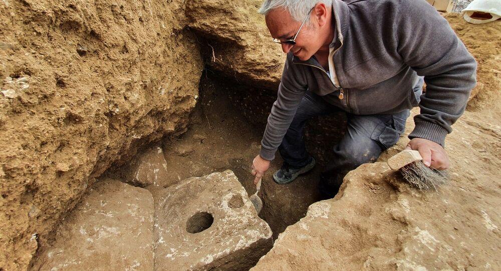 Banheiro de 2.700 anos encontrado próximo de Jerusalém