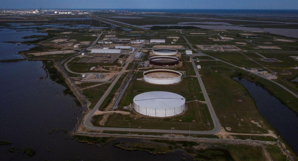 Refinaria de petróleo no Texas