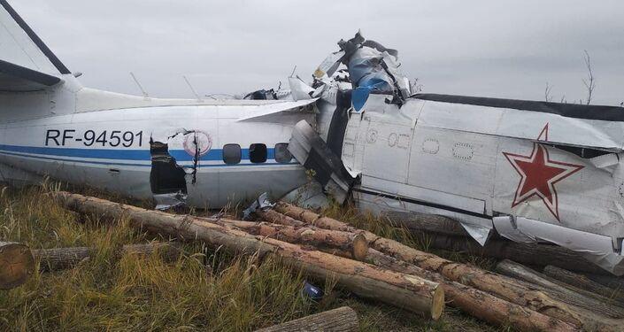 Avião L-410 caiu com 23 pessoas a bordo na república do Tatarstão, Rússia, 10 de outubro de 2021