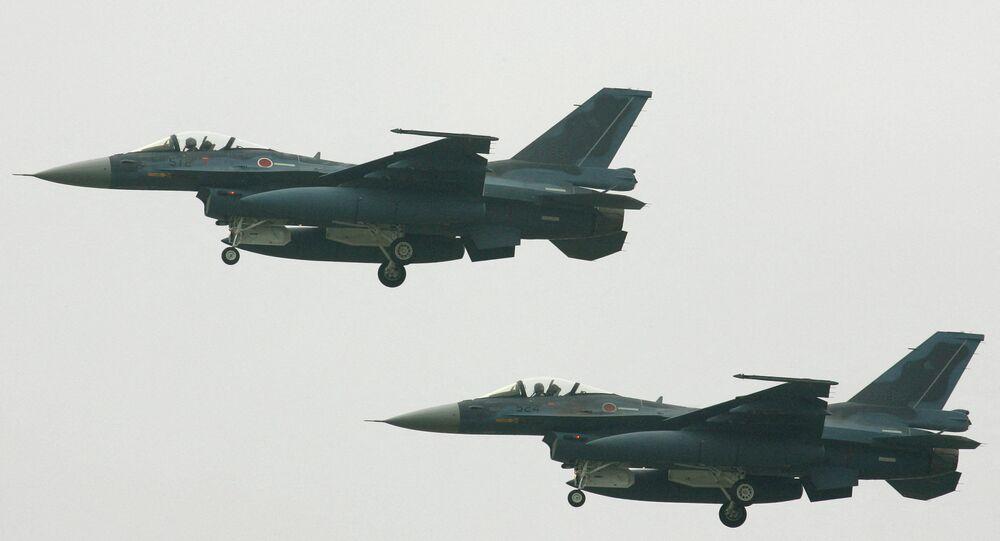 Caça F-2 do Japão