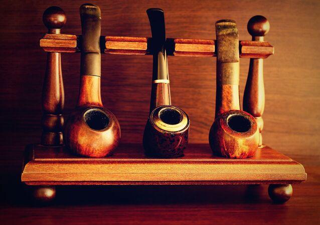 Cachimbos de tabaco (imagem referencial)