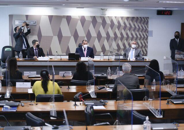 CPI da Covid no Senado, 18 de outubro de 2021