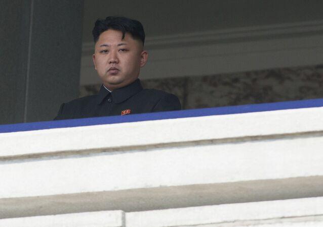 O líder norte-coreano, Kim Jong-un (foto de arquivo)