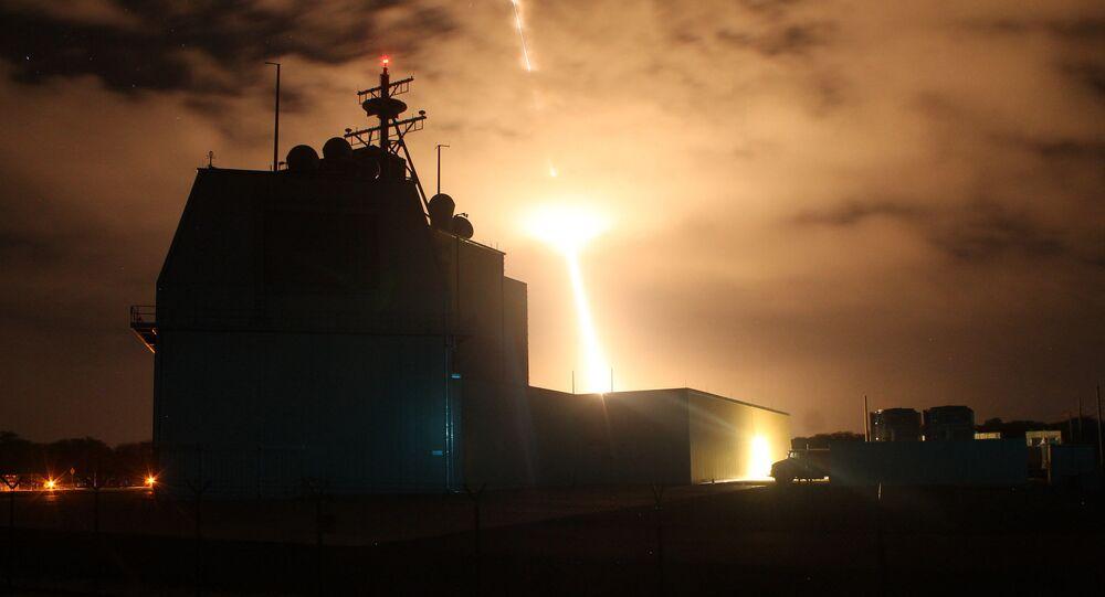 Sistema de defesa antimíssil estadunidense Aegis Ashore