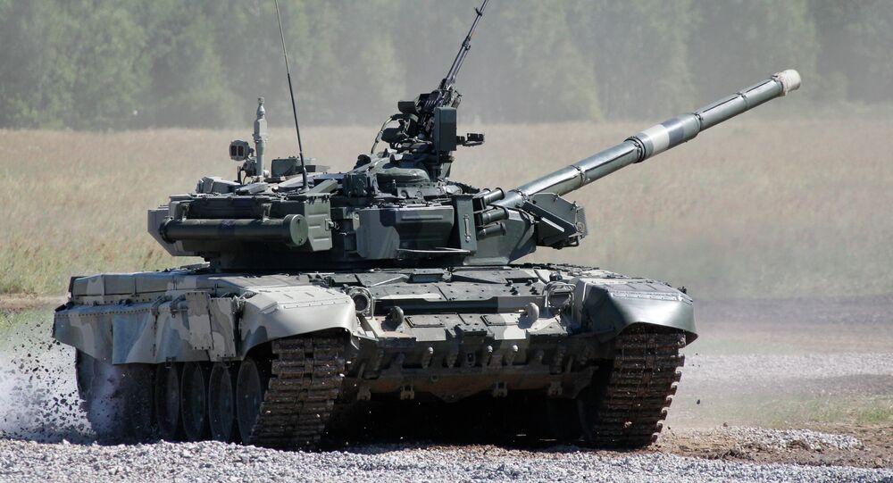 Tanque russo T-80