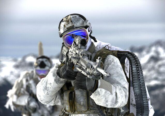 Forças de operações especiais dos EUA (foto de arquivo)