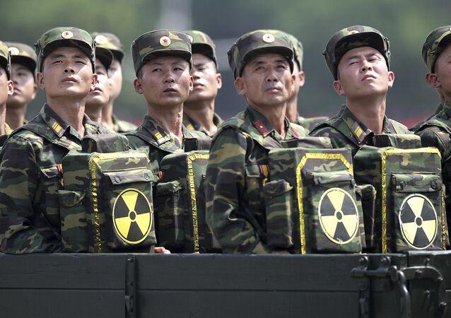 Soldados norte-coreanos