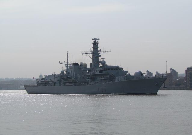 HMS St Albans, foto de arquivo