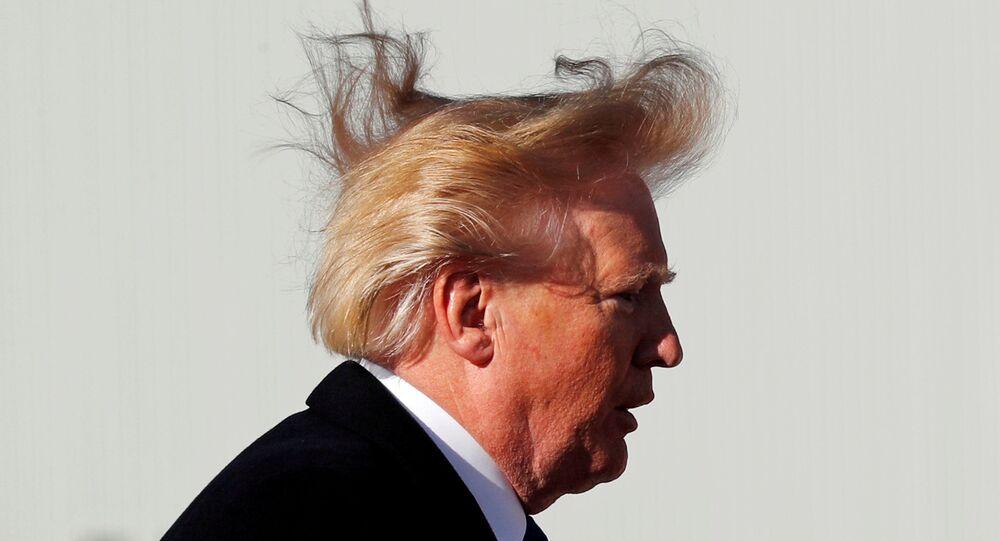Presidente norte-americano Donald Trump