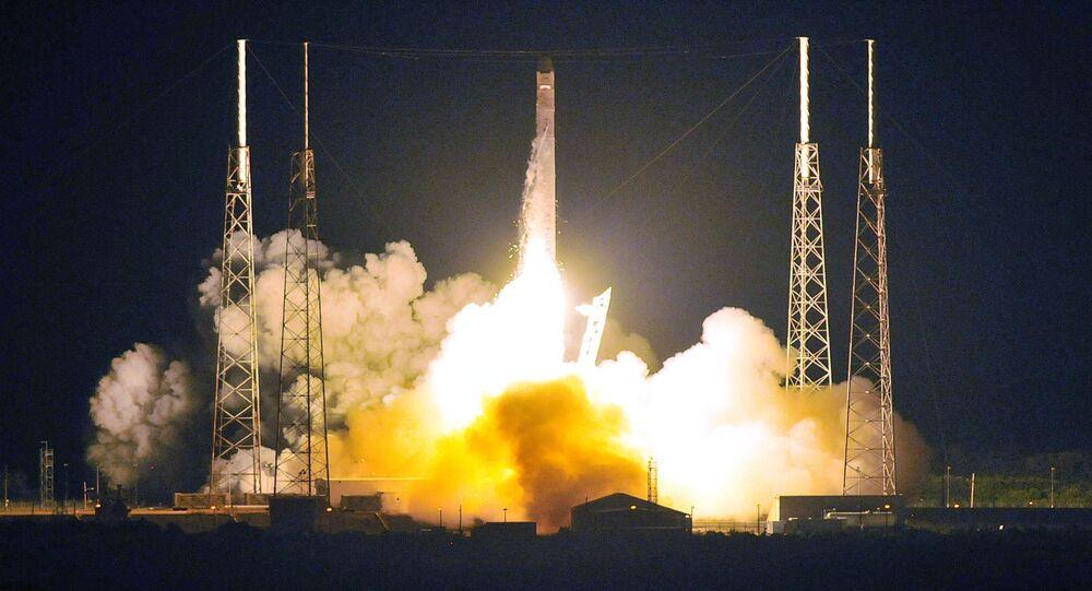 Lançamento do Falcon 9 da SpaceX (foto de arquivo)