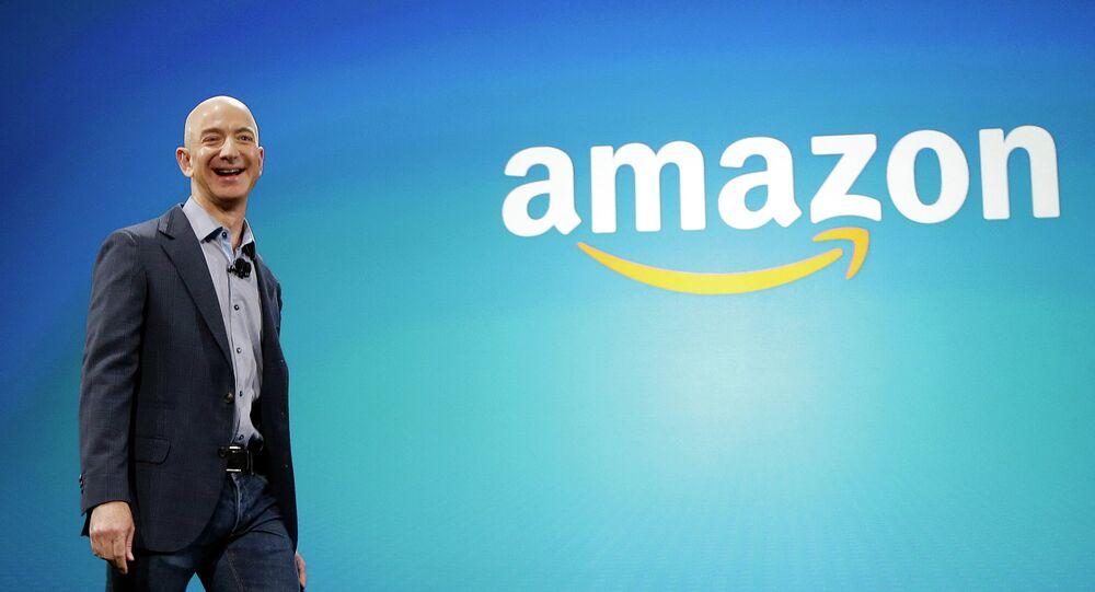 Jeff Bezos, fundador e presidente da Amazon.