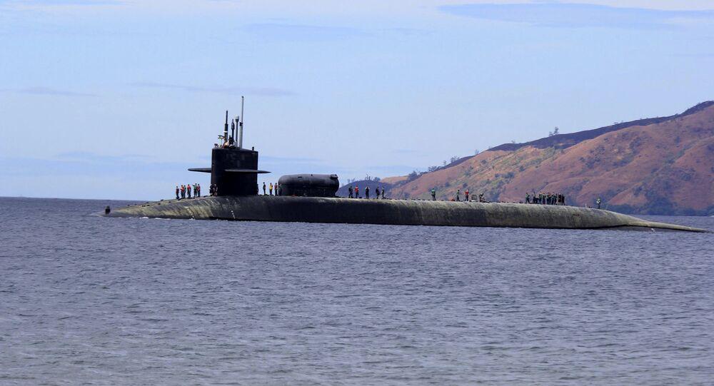 Submarino norte-americano USS Michigan da classe Ohio