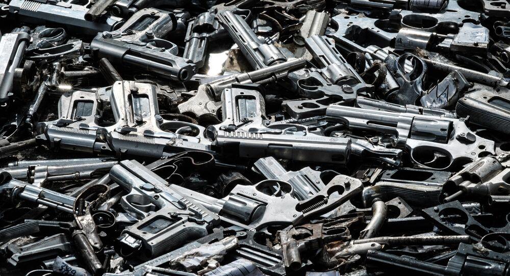 Armas usadas pelo crime organizado chegam pela Tríplice Fronteira, Norte do país e dos EUA (imagem referencial)