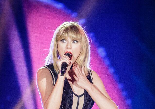 Taylor Swift, cantora estadunidense