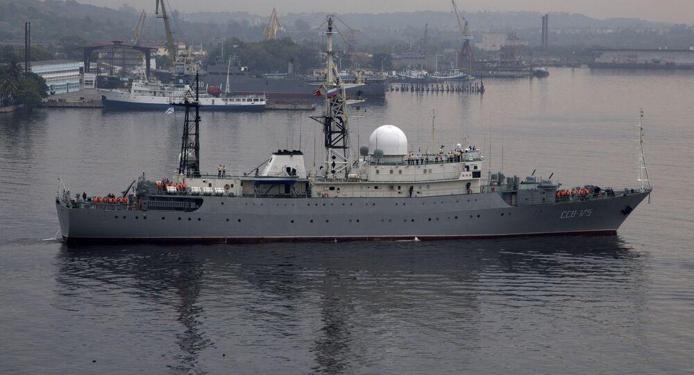 Navio russo (imagem referencial)