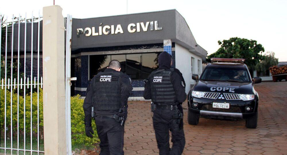 Operação da Polícia Civil no Paraná