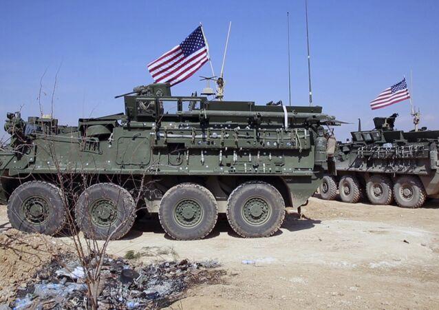 Patrulha dos EUA na, Síria