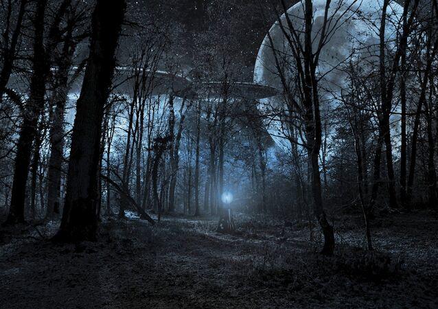 Naves espaciais alienígenas (imagem referencial)