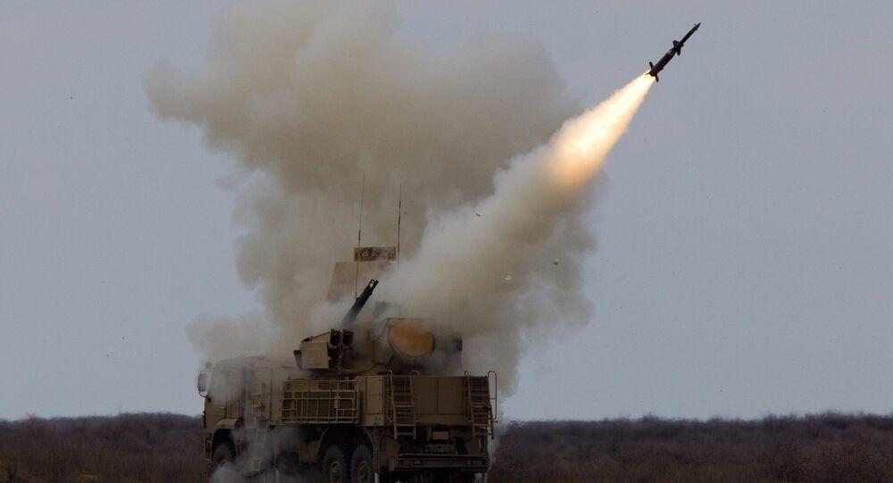 Sistema antiaéreo russo Pantsir-S