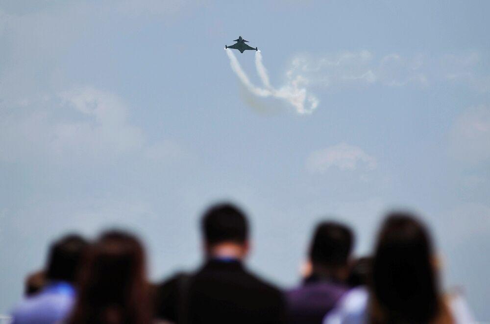 Caça JAS-39 C/D Gripen da Força Aérea do Tailândia