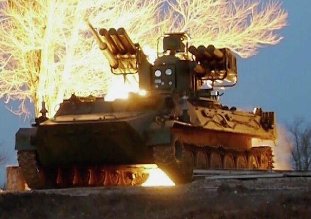 Sistema de defesa antiaérea Sosna.