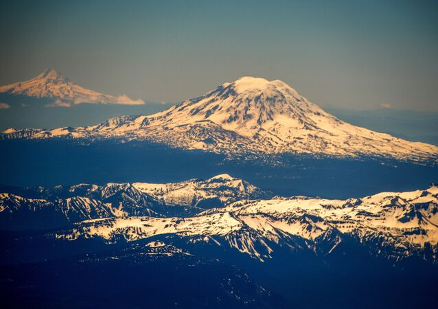 Monte Hood, montanha mais alta do estado americano do Oregon