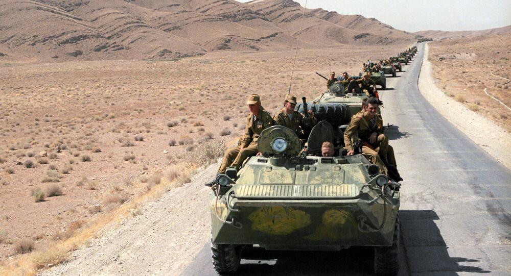 Retirada das tropas soviéticas do Afeganistão (foto de arquivo)