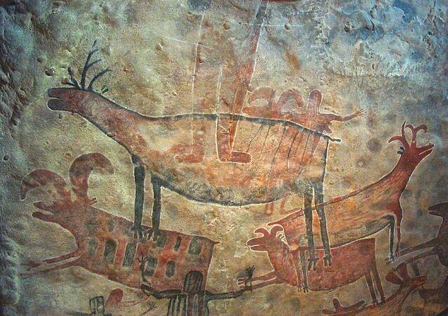 Pintura rupestre (imagem ilustrativa)