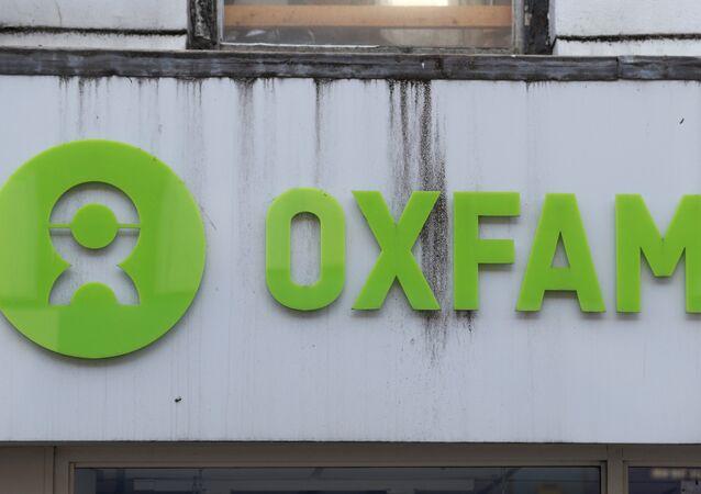 An Oxfam shop is seen, in London, Britain