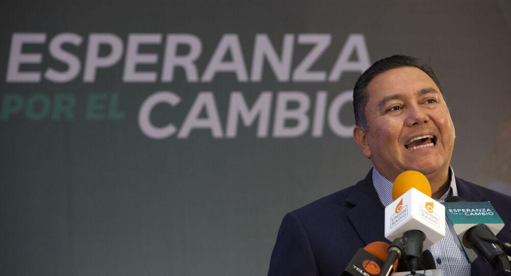 Javier Bertucci, presidenciável da Venezuela.