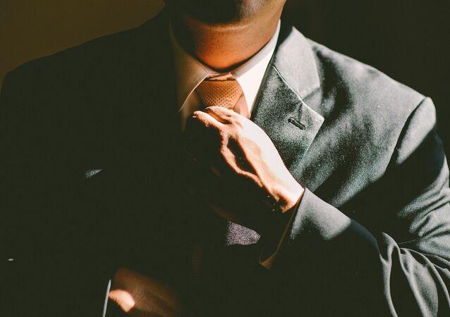 Homem com gravata