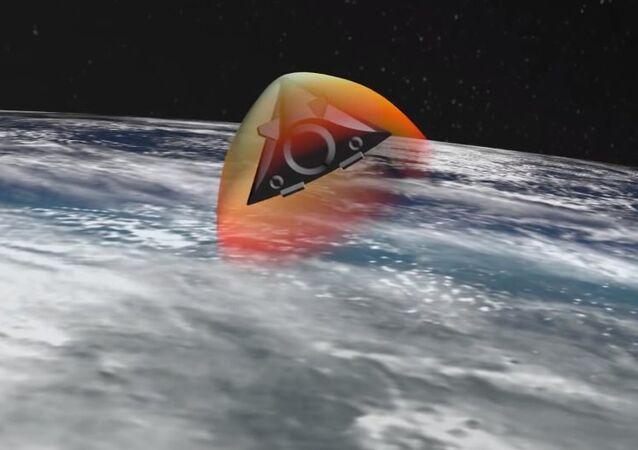 Míssil hipersônico Avangard
