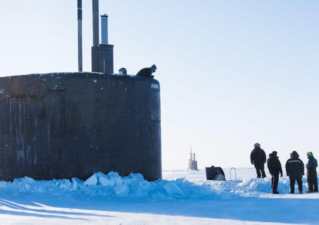Marinhas dos EUA e do Reino Unido realizam exercícios marítimos conjuntos no Ártico (foto de arquivo)
