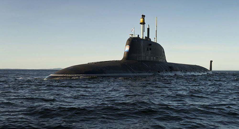 Submarino russo (imagem referencial)