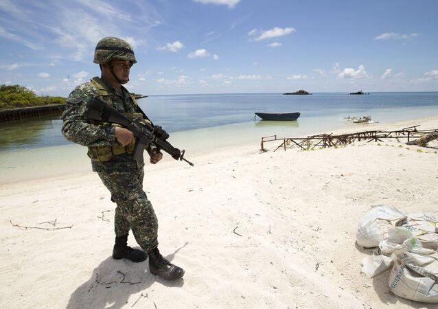 Forças navais da China nas ilhas Spratly