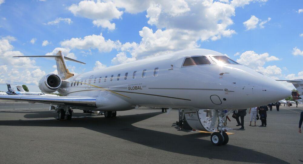 Jato Global 6000 da Bombardier
