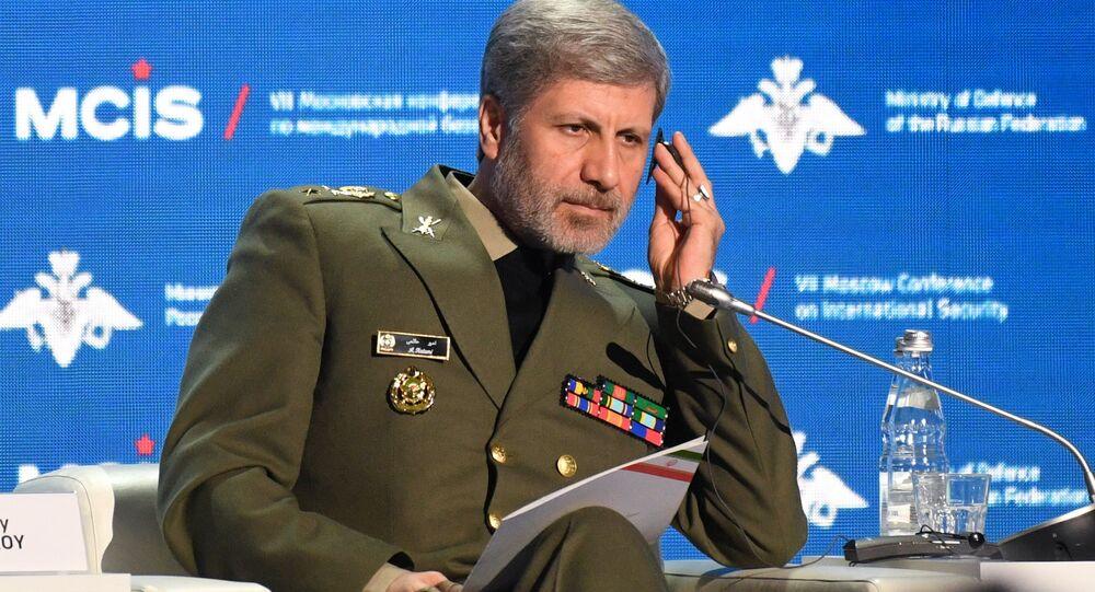 General Amir Hatami, ministro de Defesa do Irã