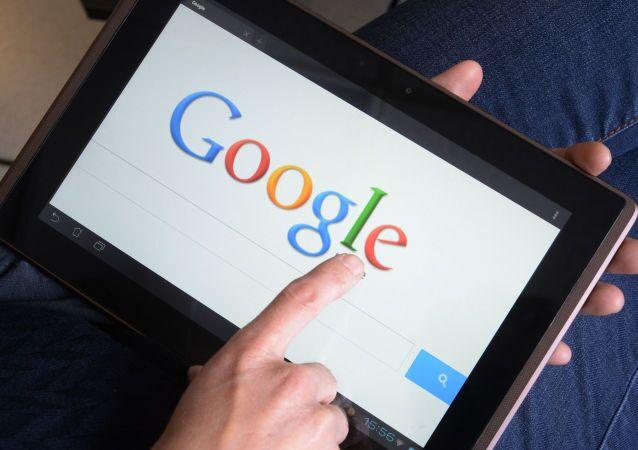 Página do Google em tablet (foto de arquivo)