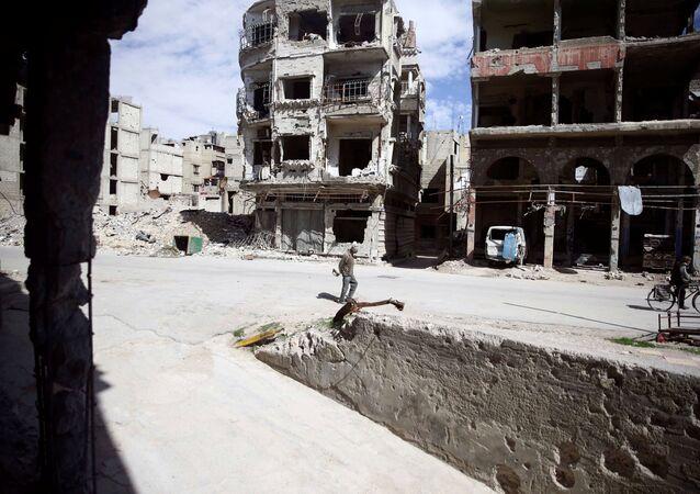Cidade síria de Douma