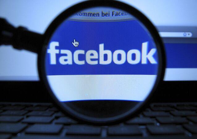 Logotipo da rede social Facebook