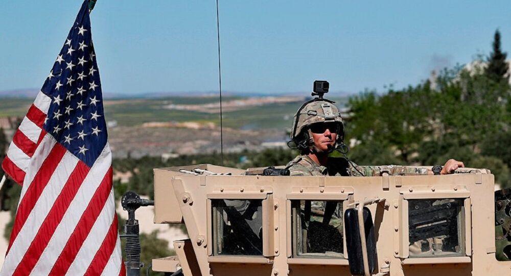 Militar norte-americano na cidade de Manbij, Síria