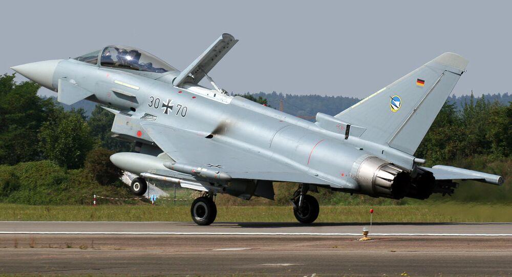 Eurofighter Typhoon S da Força Aérea da Alemanha