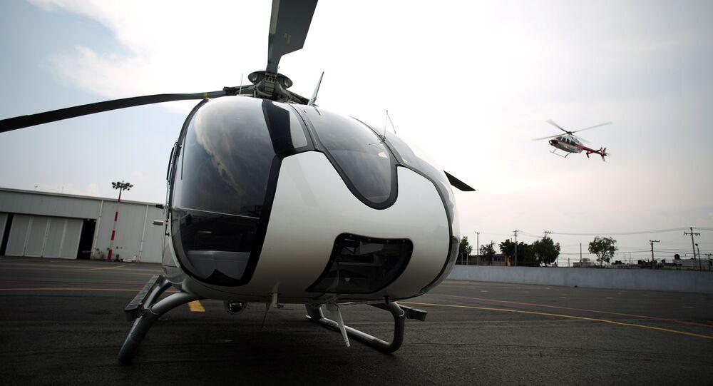 Helicóptero (imagem ilustrativa)
