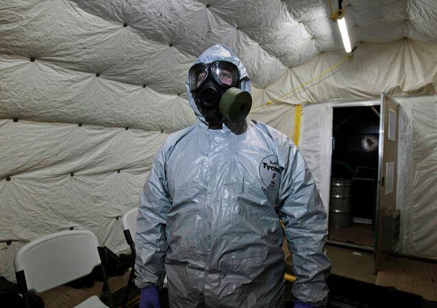 Agente da Organização para a Proibição de Armas Químicas (OPAQ)