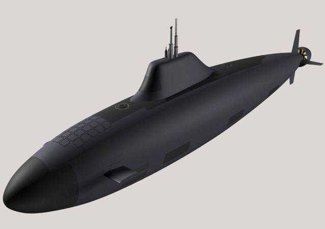 Submarino nuclear de 5ª geração do projeto Khaski