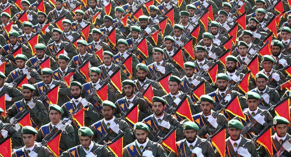 Tropas da Guarda Revolucionária do Irã (imagem de arquivo)