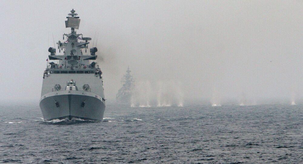 Exercícios navais conjuntos da Rússia e Índia, Indra-2014