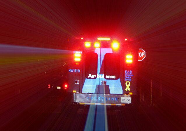 Ao menos três pessoas tiveram ferimentos críticos, segundo serviço de emergência