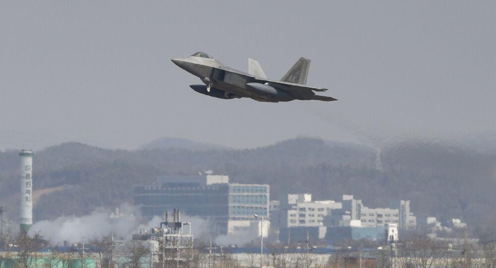 Caça norte-americano F-22